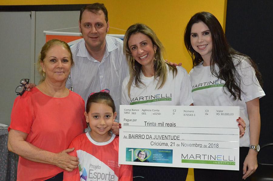 2018 10 anos do Instituto Martinelli Solidariedade
